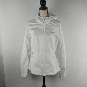 White Columbia zippered hoodie